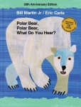 本书单中包括的绘本:Polar Bear, Polar Bear, What Do You Hear?