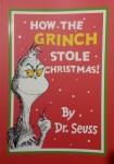 本书单中包括的绘本:How The Grinch Stole Christmas!-Dr Seuss Big Book苏斯博士圣诞怪杰