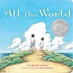 本书单中包括的绘本:All the World(2010年凯迪克银奖)