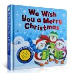 本书单中包括的绘本:We Wish You a Merry Christmas 圣诞快乐