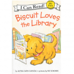 Biscuit Loves the Library (I Can Read, My First Level) 小饼干喜欢图书馆
