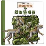 本书单中包括的绘本:动物住哪里-葛瑞米贝斯动物拉拉书