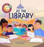 本书单中包括的绘本:At the Library: A Shine-a-Light Book
