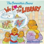 本书单中包括的绘本:Berenstain Bears: We Love the Library